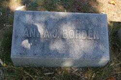 Anna J. <i>Wallace</i> Borden