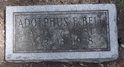 Adolphus F. Bell