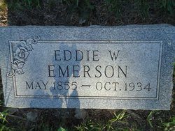 Edward Warren Eddie Emerson