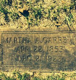 Martha A. <i>Leatherwood</i> Garrett