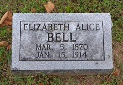 Lizzie Alice <i>Fagan</i> Bell