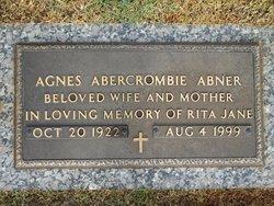 Agnes <i>Abercrombie</i> Abner