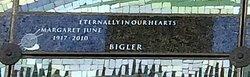 Margaret June <i>Palmer</i> Bigler