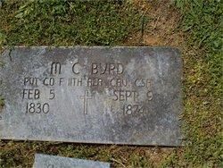 Pvt Michael Cicero Byrd