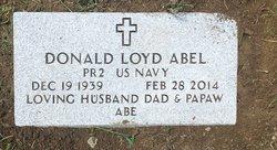 Donald Lloyd Abe Abel