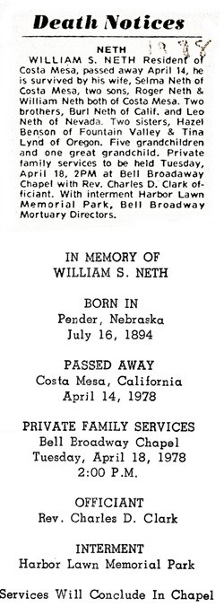 William Scott Neth