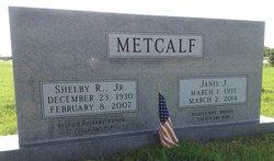 Shelby R. Metcalf, Jr