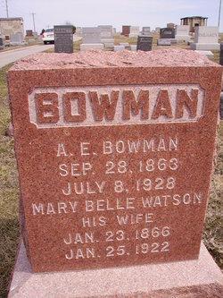 Mary Belle <i>Watson</i> Bowman