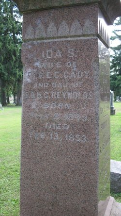Ida S. <i>Reynolds</i> Cady