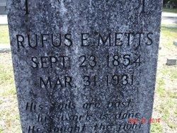 Rufus Emory Metts