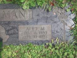 Alice M. Halman