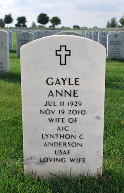 Gayle Anne <i>Schegg</i> Anderson