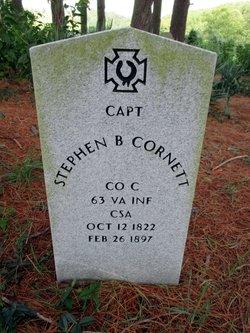 Capt Stephen Bourne Cornett