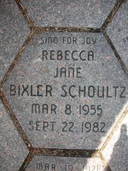 Rebecca Jane <i>Bixler</i> Schoultz