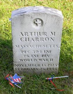 PFC Arthur M Charron
