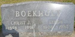 Christ J Boekholt