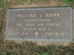 Willard Joseph Rohr