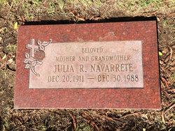 Julia <i>Rodriguez</i> Navarrete