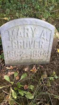 Mary A. <i>Wysong</i> Gruver