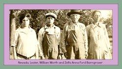Zelfa Anna <i>Ford</i> Barngrover