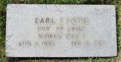 Earl J Love