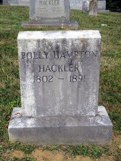 Mary Polly <i>Hampton</i> Hackler