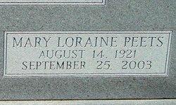 Mary Loraine <i>Peets</i> Buffett