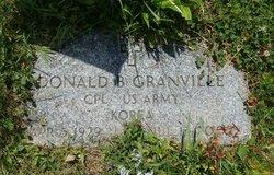 Donald B Granville