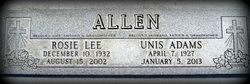 Rosie Lee <i>Walter</i> Allen