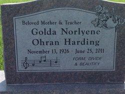 Golda Norlyene <i>Ohran</i> Harding