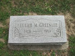 Beulah M. Greenlee