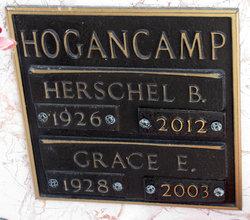 Grace E <i>Holbrook</i> Hogancamp