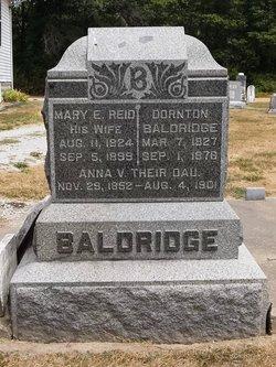 Mary E. <i>Reid</i> Baldridge