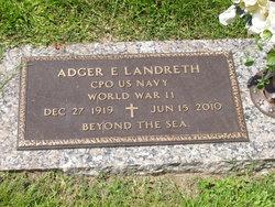 Adger Eugene Landreth