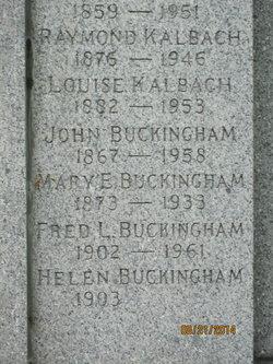 Mary Elizabeth Mamie <i>Williams</i> Buckingham