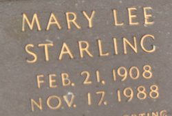 Mary Lee <i>Starling</i> Brown