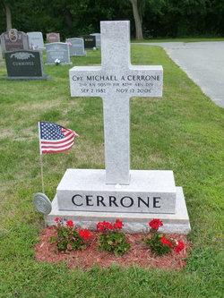 Lieut Michael Anthony Cerrone
