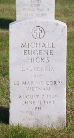 PFC Michael Eugene Hicks