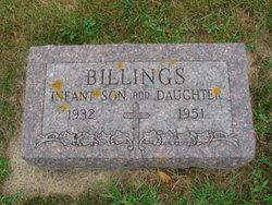 Infant Daughter Billings