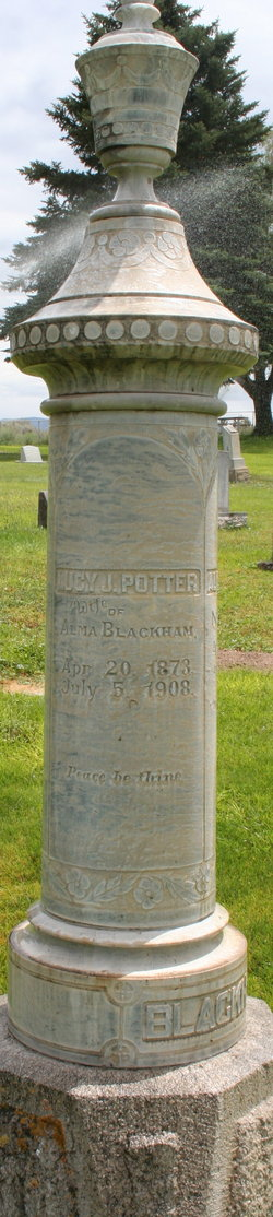 Lucy Jemina <i>Potter</i> Blackham