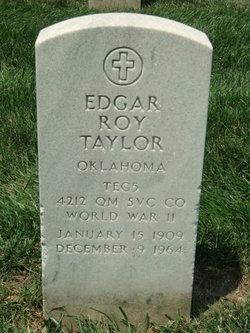 Edgar Roy Taylor