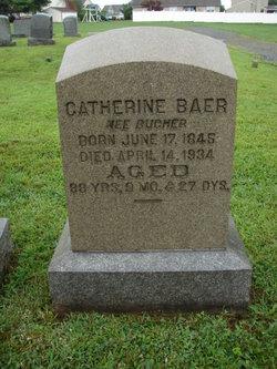 Catherine <i>Bucher</i> Baer