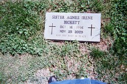 Agnes Lucille Sister Agnes Irene Bickett