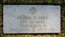 Frank David Ebey