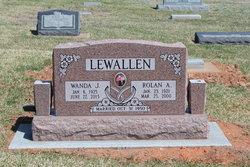 Pvt Rolan Albert Lewallen