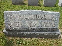 Alice May <i>Serfass</i> Audridge