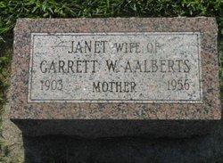 Janet <i>Van Veldhuizen</i> Aalberts