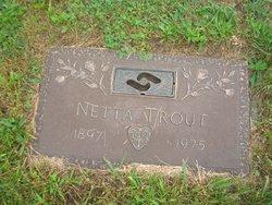 Annette Nettie <i>Spotts</i> Trout