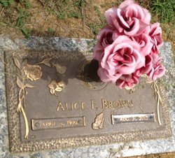 Alice Faye Brown