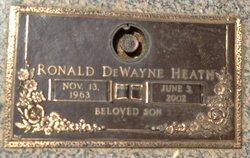 Ronald Dewayne Ronnie Heath